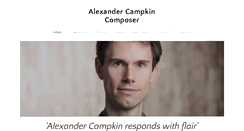 Preview of alexandercampkin.co.uk